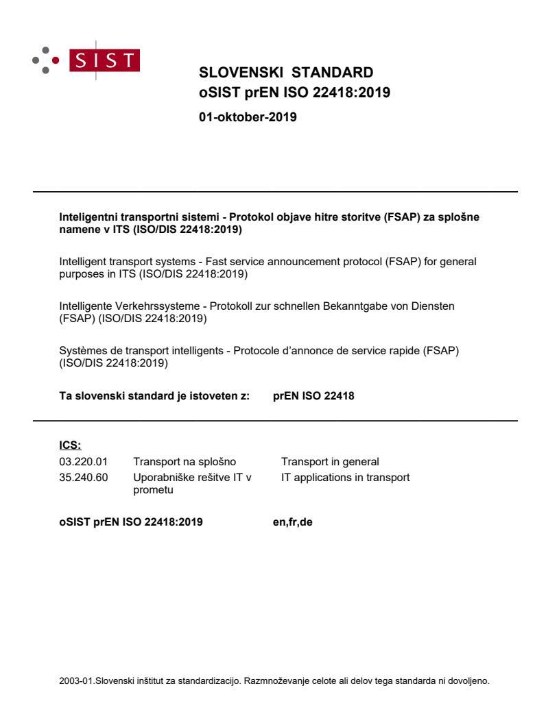 EN ISO 22418:2020