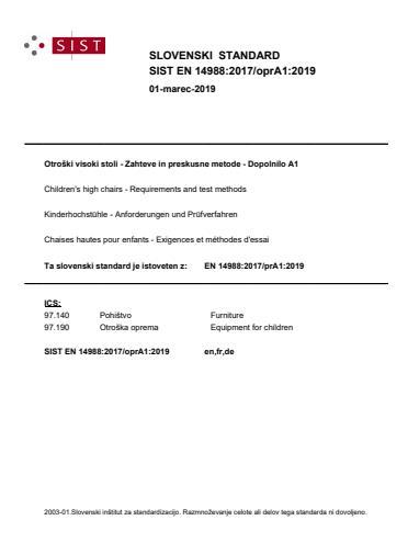 EN 14988:2017/oprA1:2019 - BARVE na PDF-str 7