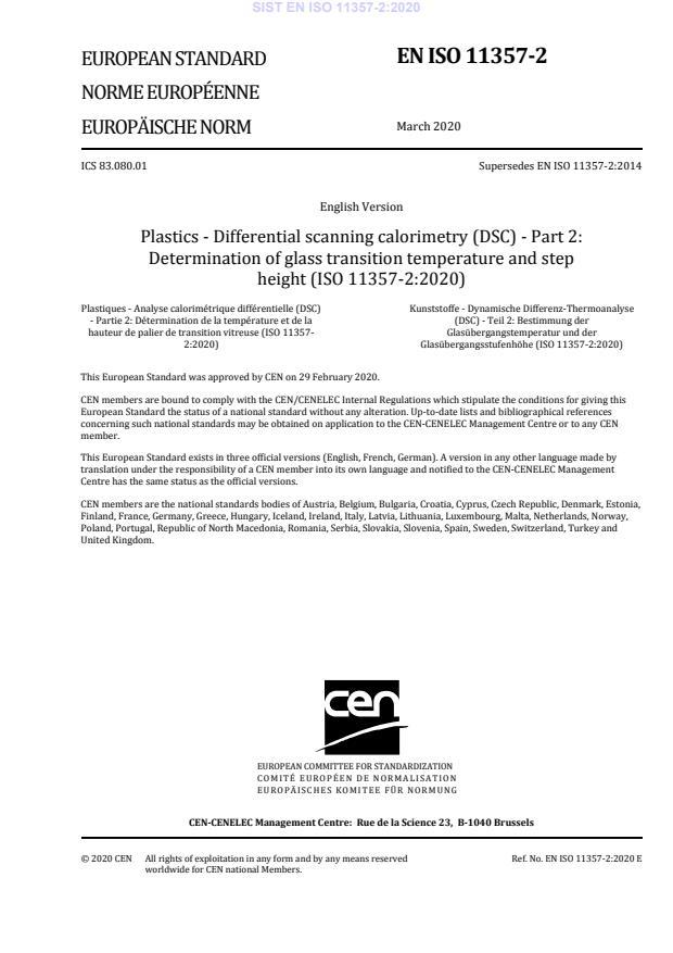 EN ISO 11357-2:2020