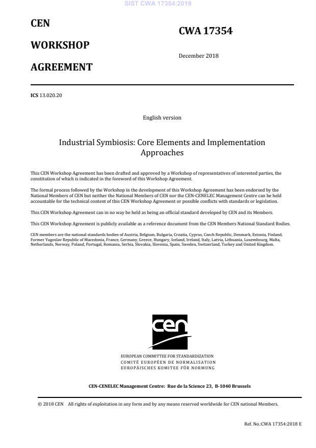 CWA 17354:2019 - BARVE na PDF-str 17