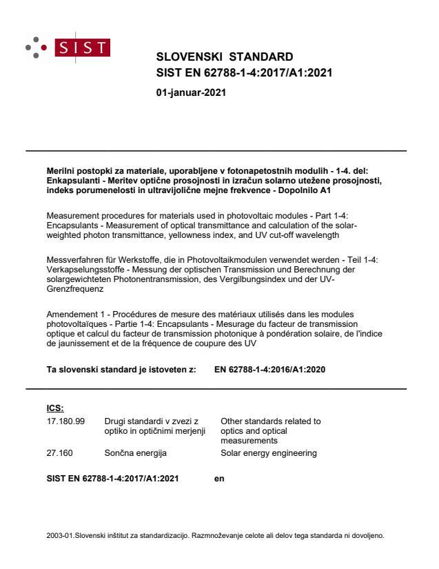 SIST EN 62788-1-4:2017/A1:2021