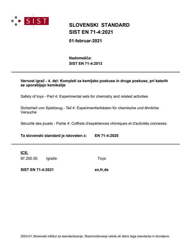 SIST EN 71-4:2021 - BARVE na PDF-str 16