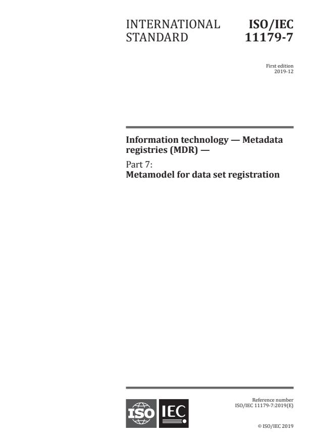 ISO/IEC 11179-7:2019