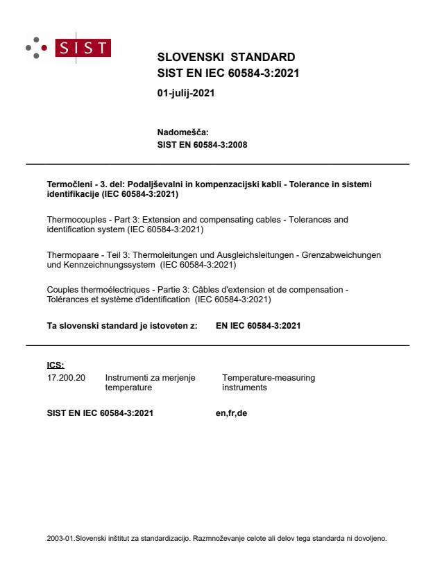SIST EN IEC 60584-3:2021