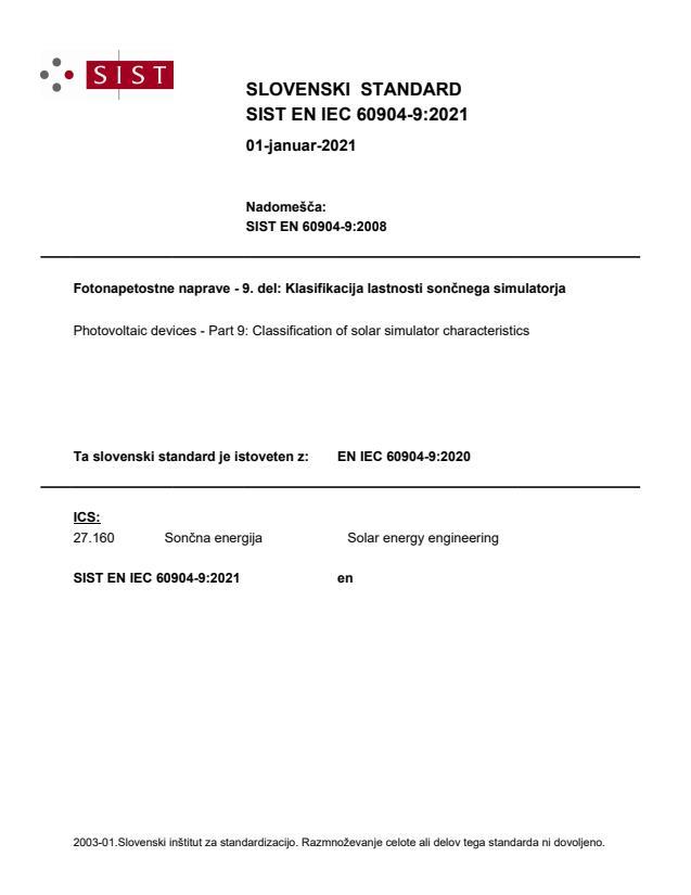 SIST EN IEC 60904-9:2021 - BARVE na PDF-str 31,33,34