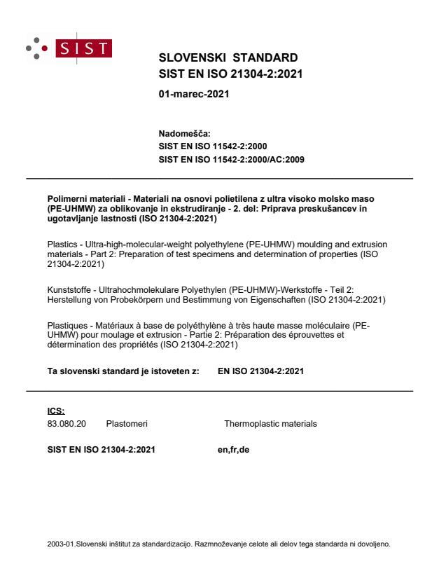 EN ISO 21304-2:2021