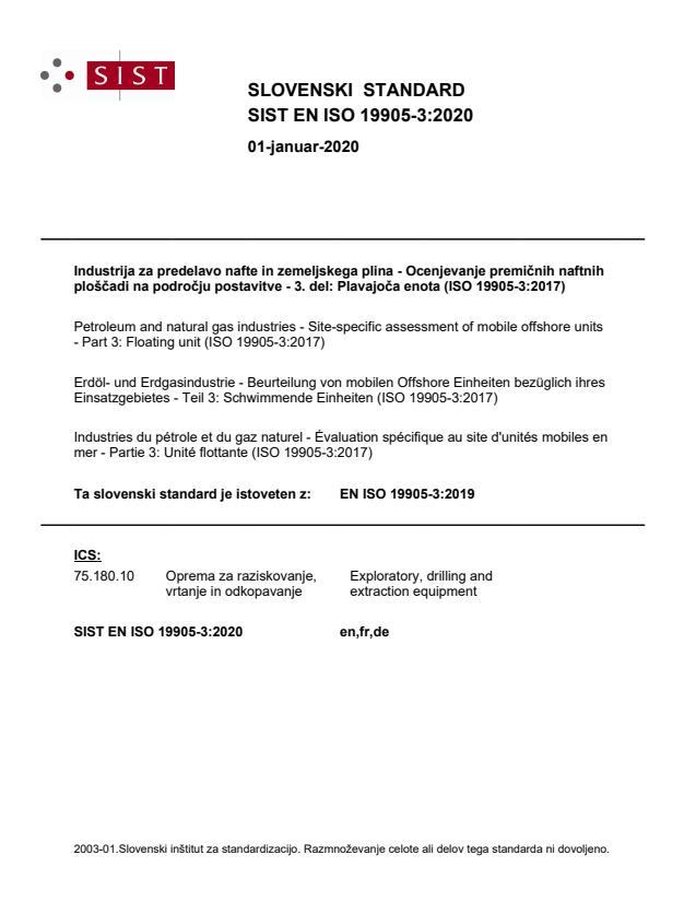 EN ISO 19905-3:2019