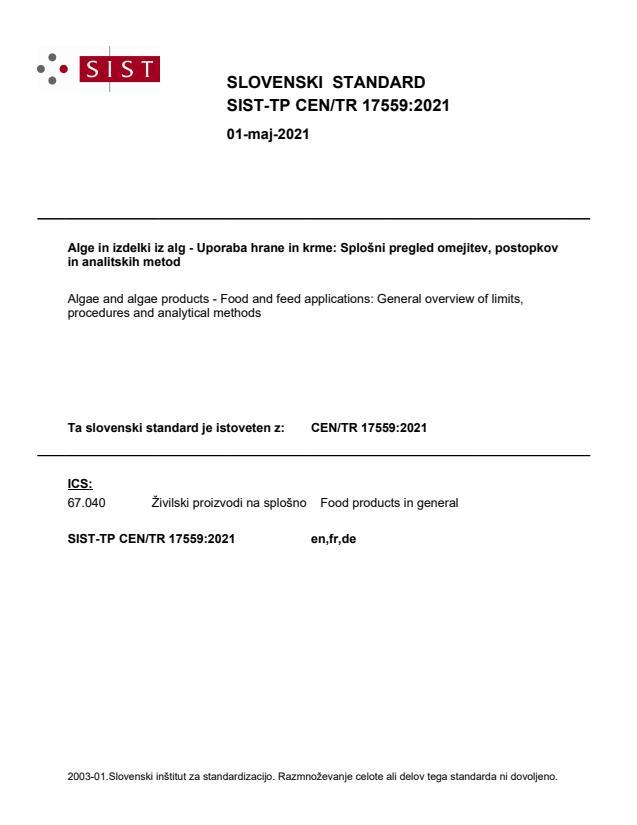 SIST-TP CEN/TR 17559:2021 - BARVE na PDF-str 30