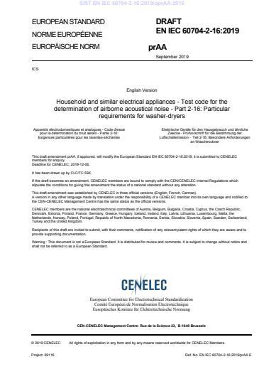 SIST EN IEC 60704-2-16:2019/A11:2020