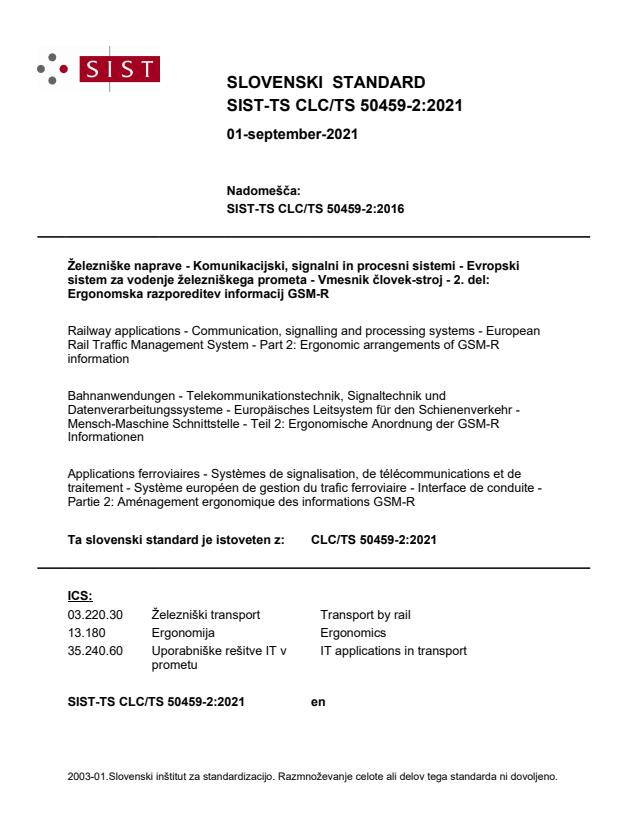 SIST-TS CLC/TS 50459-2:2021 - BARVE na PDF-str 20,25,60,62,66,82,97