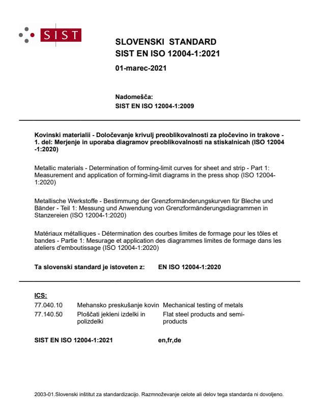 EN ISO 12004-1:2021