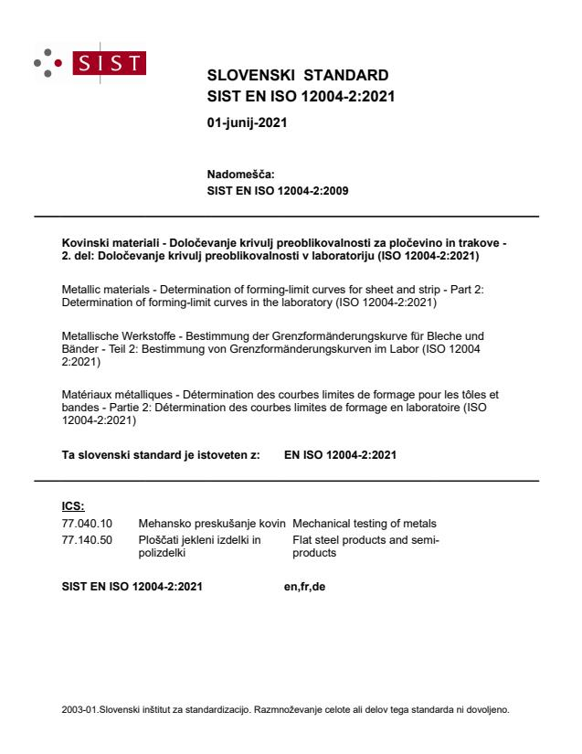 EN ISO 12004-2:2021