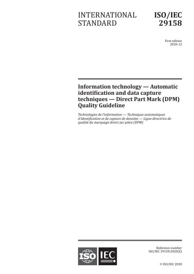 ISO/IEC 29158:2020