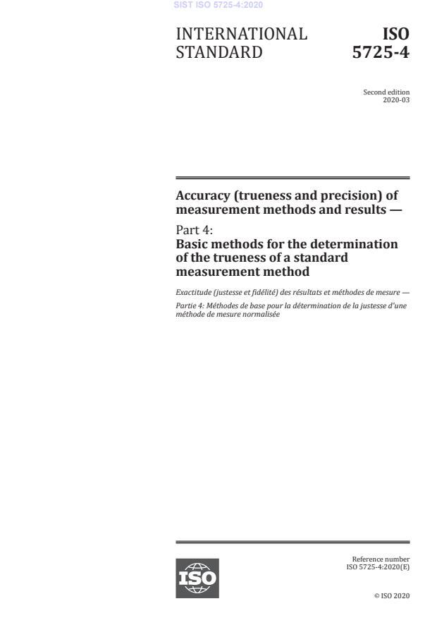 ISO 5725-4:2020 - BARVE na PDF-str 33