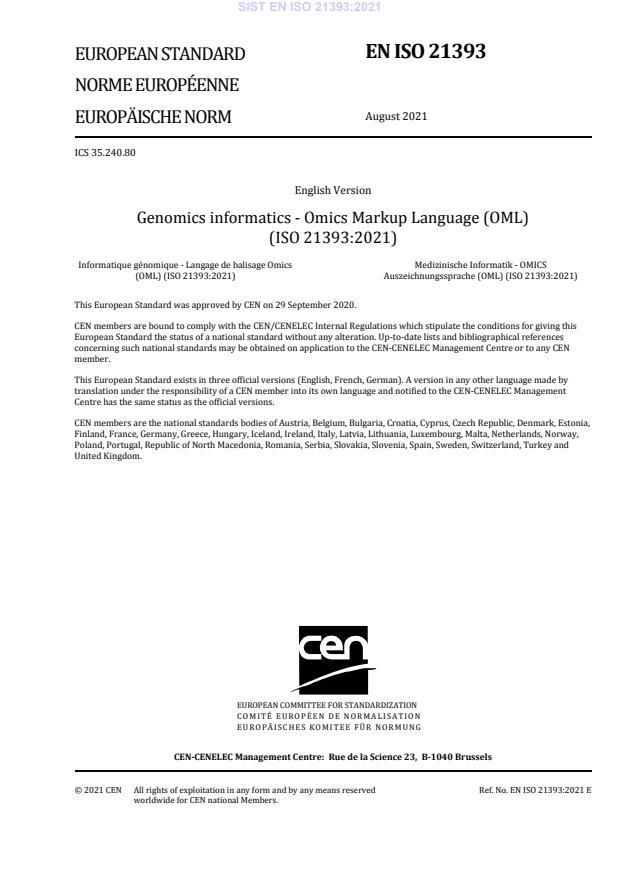 SIST EN ISO 21393:2021 - BARVE