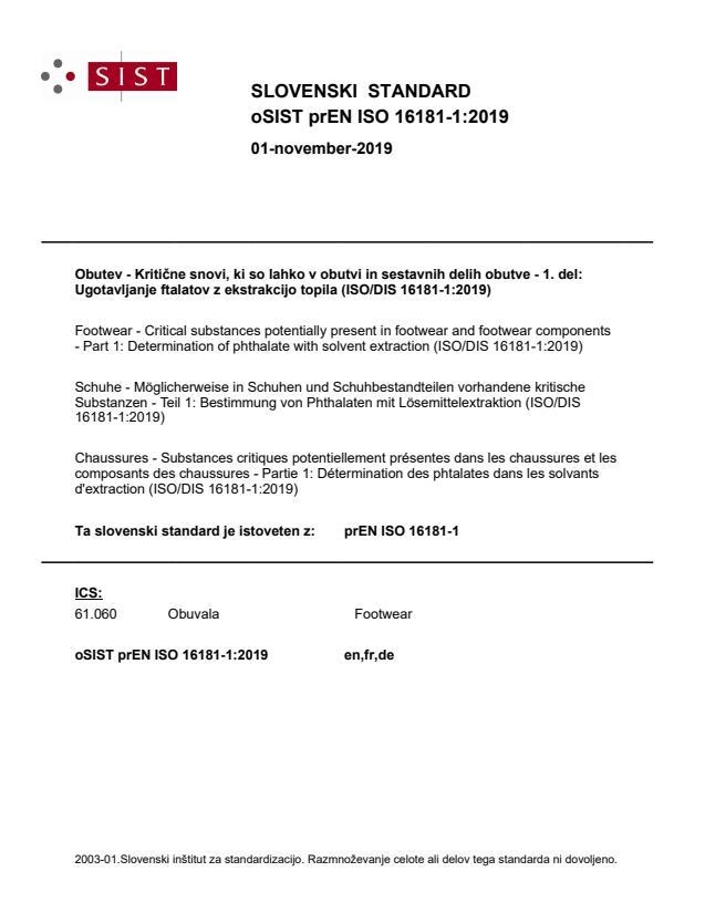 oSIST prEN ISO 16181-1:2019 - BARVE na PDF-str 19,20