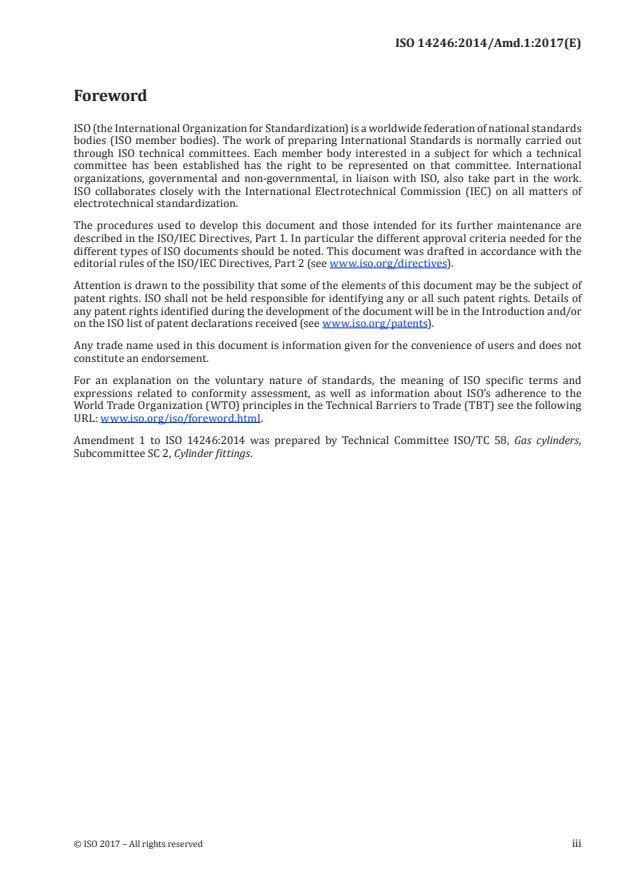 ISO 14246:2014/Amd 1:2017