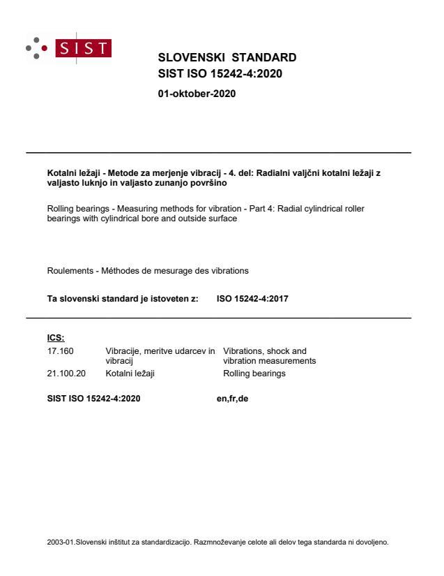 SIST ISO 15242-4:2020