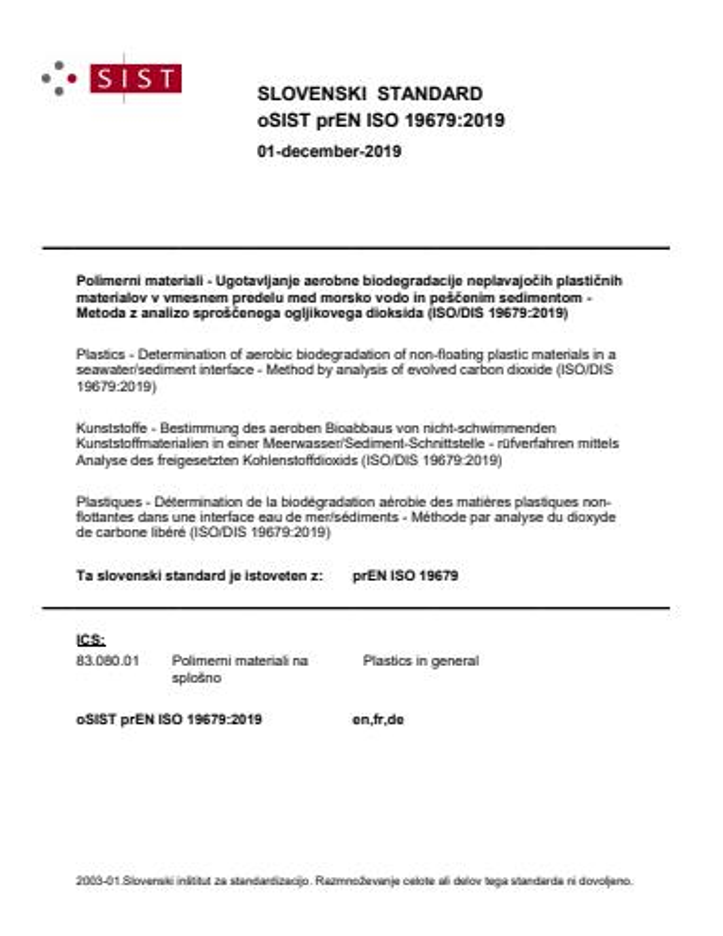 SIST EN ISO 19679:2020