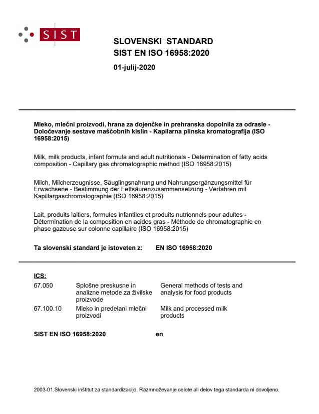 SIST EN ISO 16958:2020 - BARVE na PDF-str 32,33,34,37,40