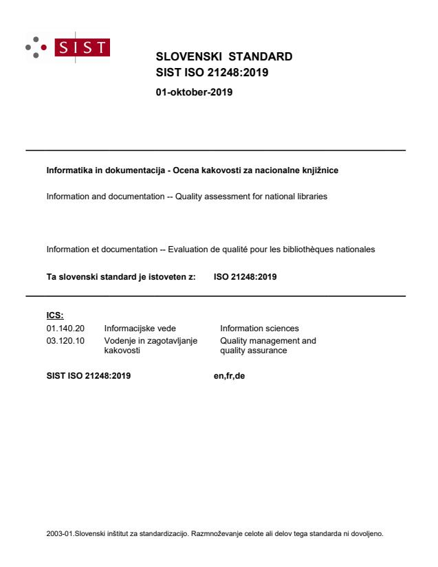 ISO 21248:2019