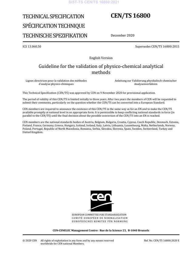 SIST-TS CEN/TS 16800:2021 - BARVE na PDF-str 17