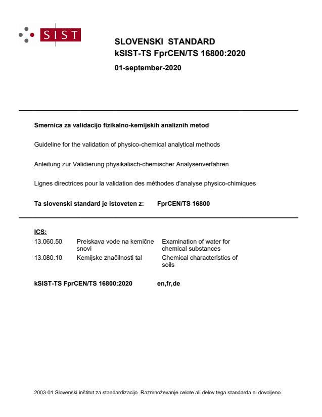 kSIST-TS FprCEN/TS 16800:2020 - BARVE na PDF-str 17