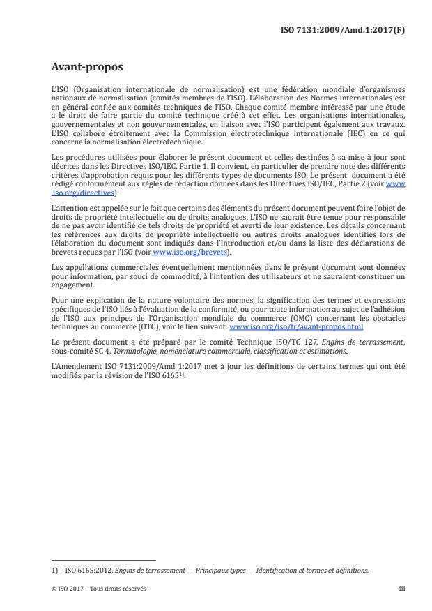 ISO 7131:2009/Amd 1:2017