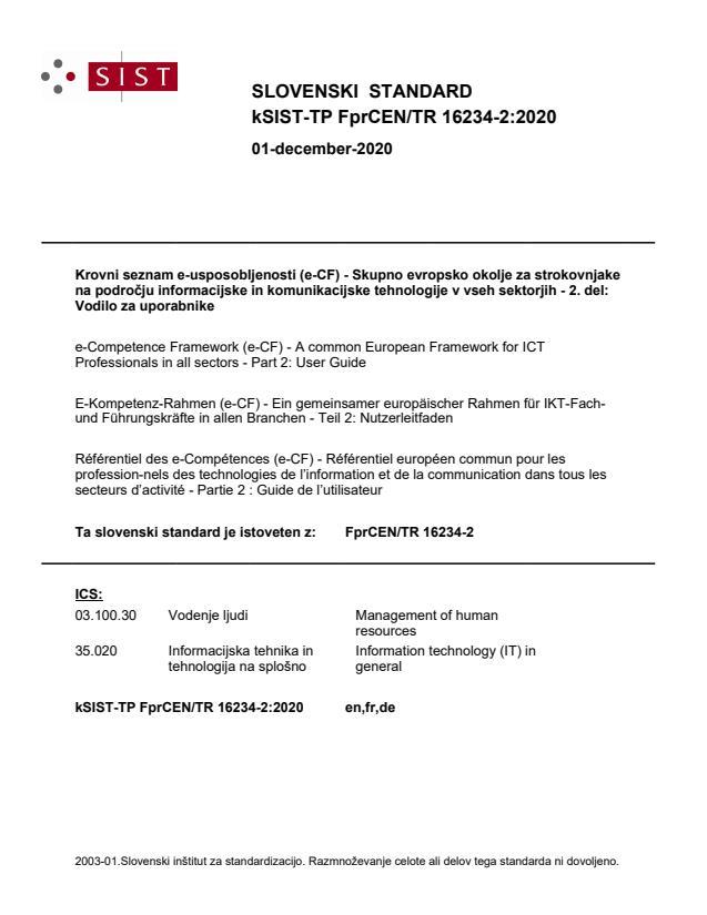 SIST-TP CEN/TR 16234-2:2021