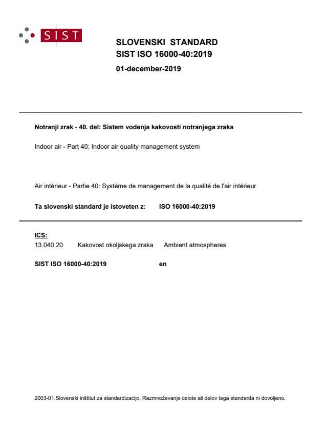ISO 16000-40:2019 - BARVE na PDF-str 25