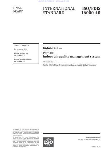 ISO/FDIS 16000-40:2019 - BARVE na PDF-str 25
