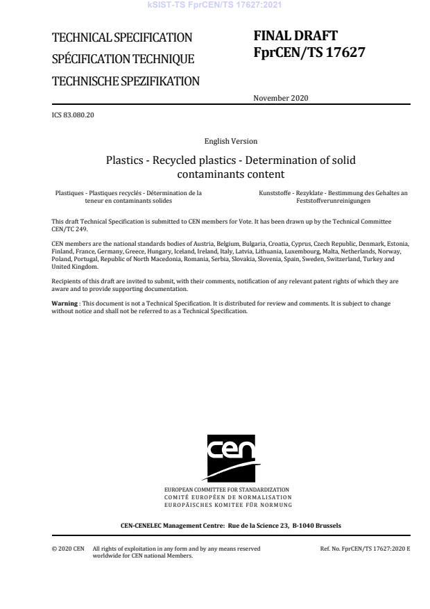 kSIST-TS FprCEN/TS 17627:2021 - BARVE na PDF-str 13,14,15,16,17,18,19