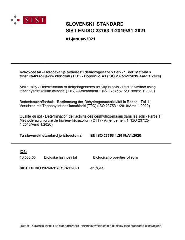SIST EN ISO 23753-1:2019/A1:2021