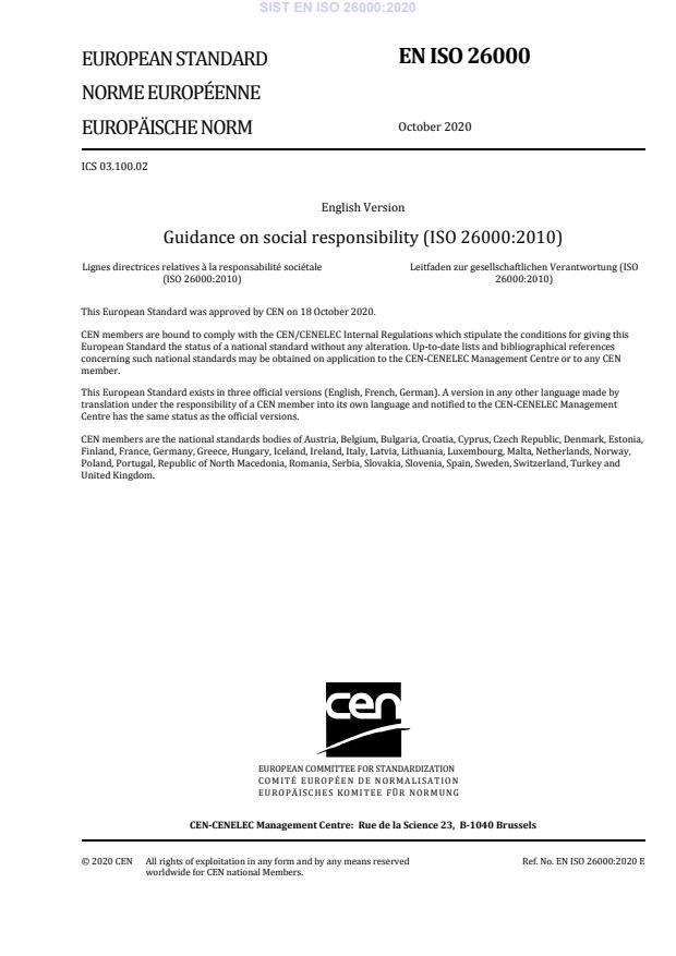 EN ISO 26000:2020