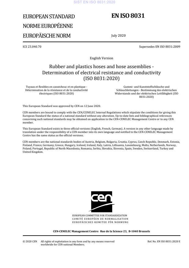 SIST EN ISO 8031:2020