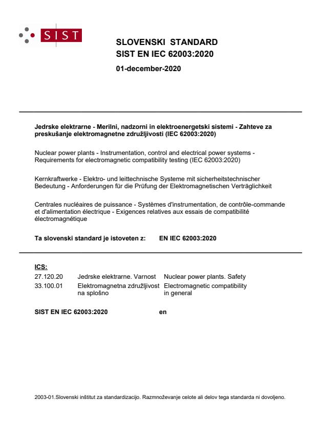EN IEC 62003:2020 - BARVE na PDF-str 20
