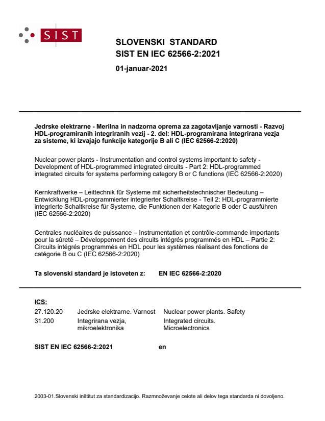 SIST EN IEC 62566-2:2021