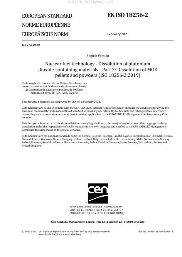 SIST EN ISO 18256-2:2021