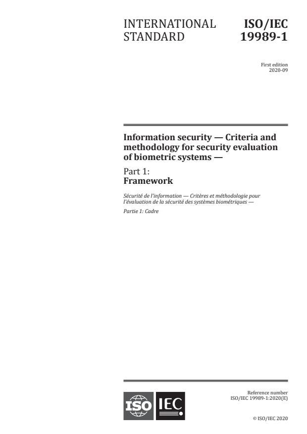 ISO/IEC 19989-1:2020