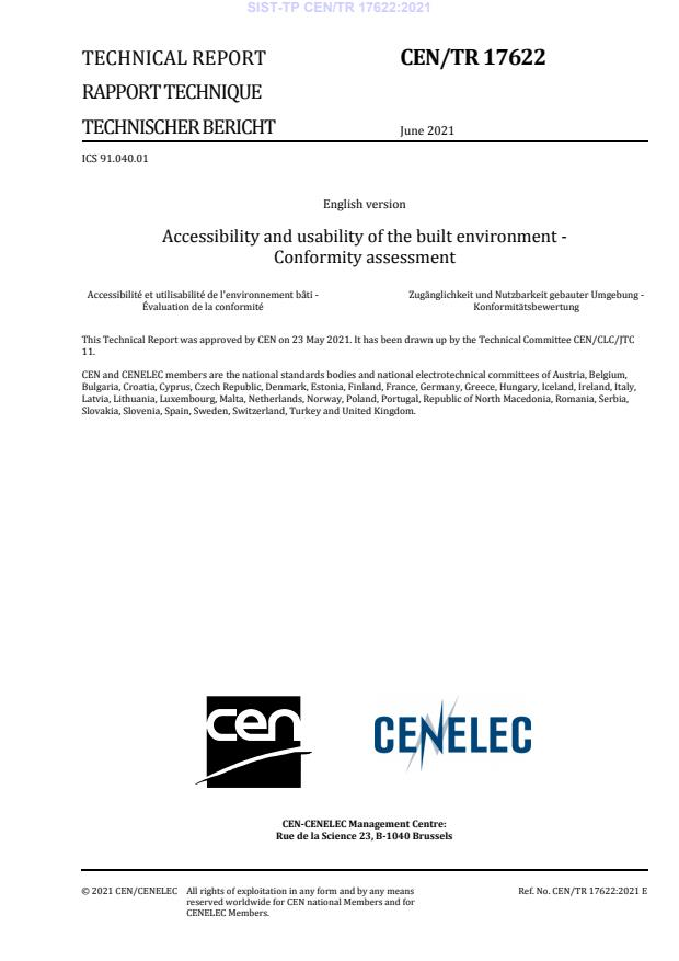 SIST-TP CEN/TR 17622:2021 - BARVE na PDF-str 9