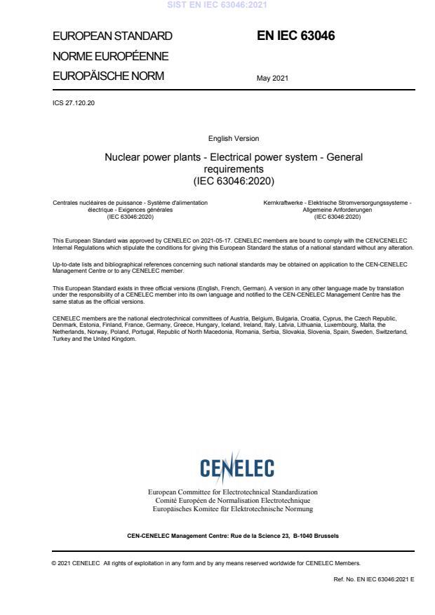 SIST EN IEC 63046:2021 - BARVE na PDF-str 16,49,91. Vodni pretisk na sredini strani, na PDF-str 72