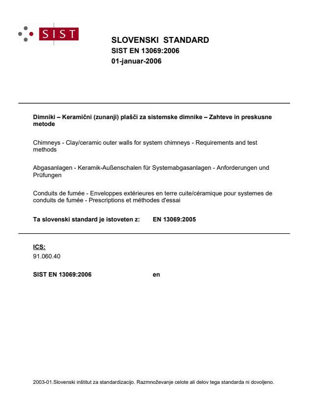 EN 13069:2006