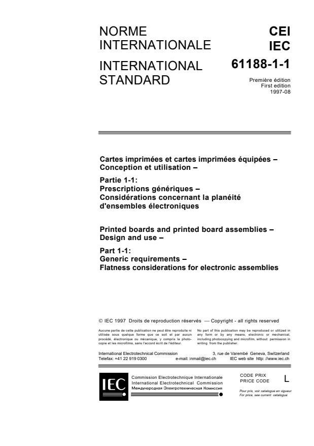 IEC 61188-1-1:1997