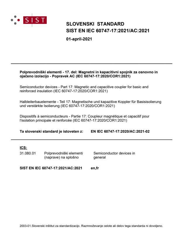 SIST EN IEC 60747-17:2021/AC:2021