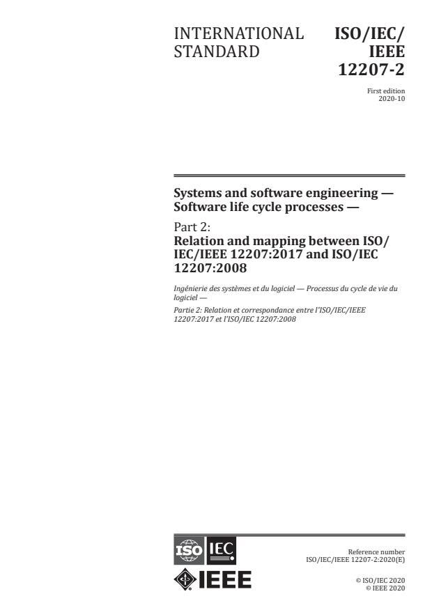 ISO/IEC/IEEE 12207-2:2020
