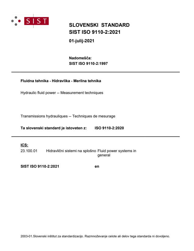 SIST ISO 9110-2:2021