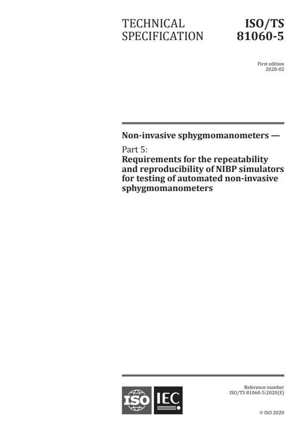ISO/TS 81060-5:2020