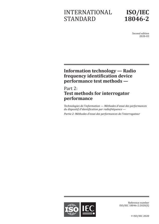 ISO/IEC 18046-2:2020