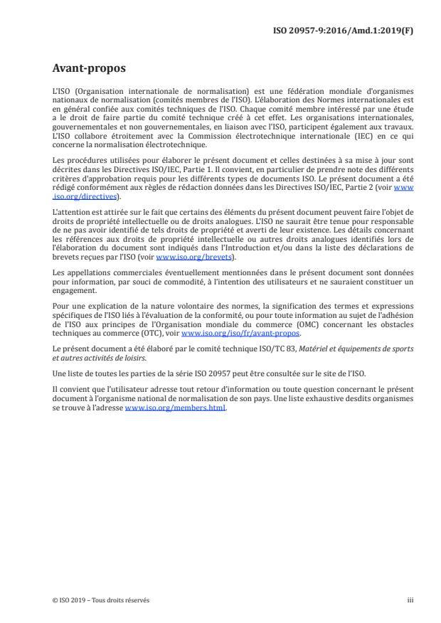ISO 20957-9:2016/Amd 1:2019