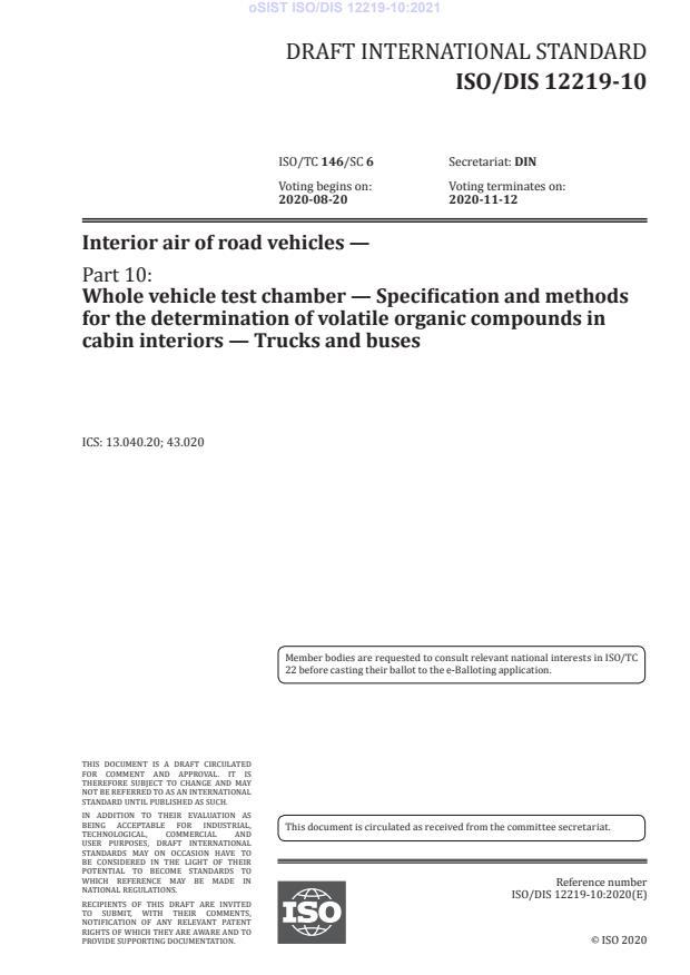 ISO/DIS 12219-10:2021 - BARVE na PDF-str 21